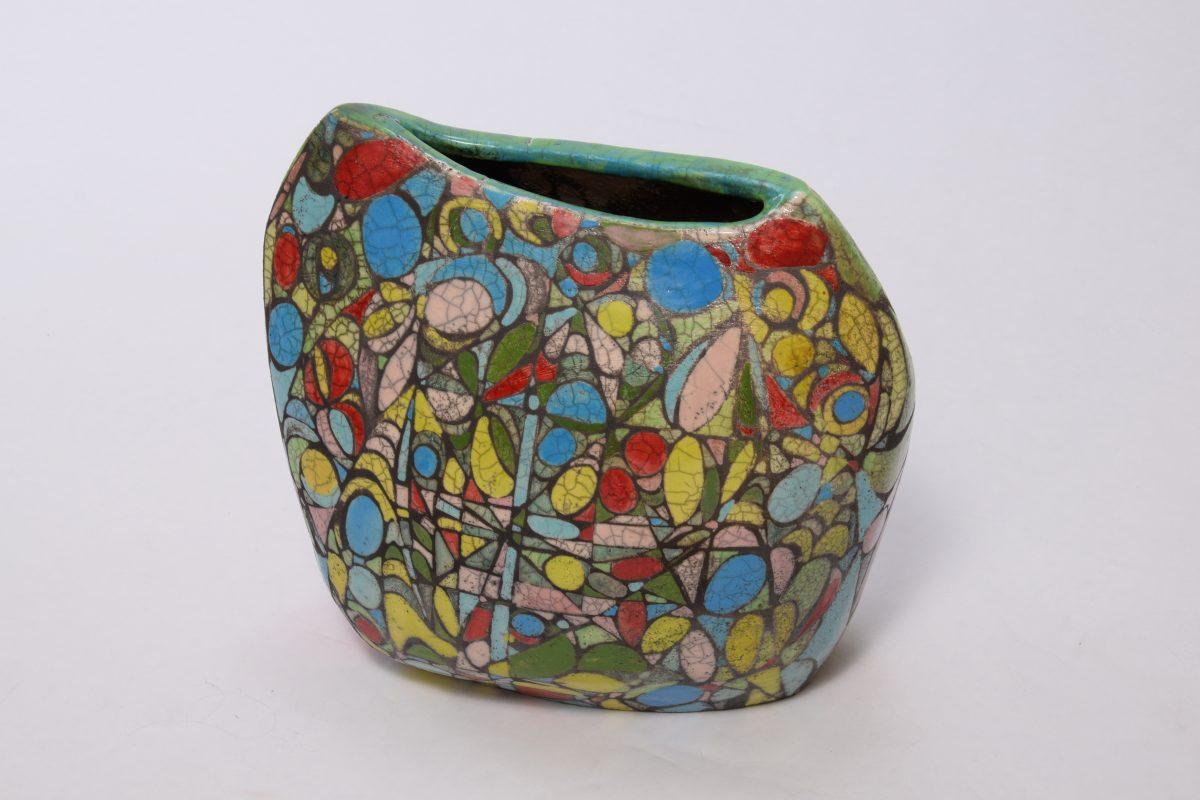 Mosaik-Spargel Vase von vorne